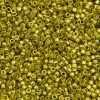 Miyuki Delica Cylinder Bead, DB1835, Duracoat Galvanized Zest, 11/0 7 grams