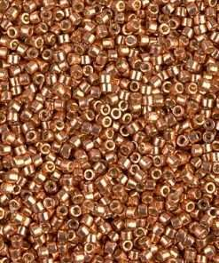 Miyuki Delica Cylinder Bead, DB1836, Duracoat Galvanized Muscat, 11/0 7 grams