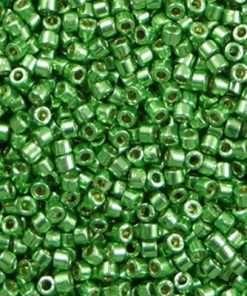 Miyuki Delica DB1844 Cylinder Bead DB1844 Duracoat Galvanized Mint Green 11/0 7 grams