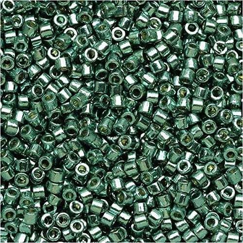 Miyuki Delica Cylinder Bead DB1846 Duracoat Galvanized Dark Seafoam 11/0 7 grams