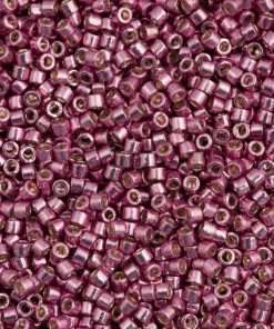 Miyuki Delica Cylinder Bead DB1848 Duracoat Galvanized Dusty Orchid 11/0 7 grams
