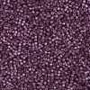 Miyuki Delica Cylinder Bead DB1850 Duracoat Galvanized Eggplant 11/0 7 grams