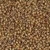 Japanese Seed Bead, Miyuki, 11-4517, Opaque Picasso Brown, 11/0 30 grams