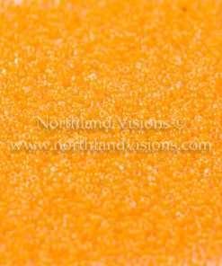 Japanese Seed Bead, TOHO CRS-801, Crystal Neon Peach, 15/0 3-Cut, 14 grams