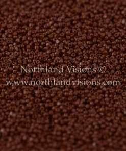 Japanese Seed Bead, TOHO CRS-046, Opaque Chocolate, 15/0 3-Cut, 14 grams