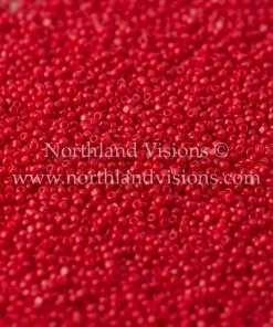 Japanese Seed Bead, TOHO CRS-045, Opaque Dark Red, 15/0 3-Cut, 14 grams