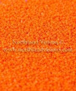 Japanese Seed Bead, TOHO CRS-050A, Opaque Orange, 15/0 3-Cut, 14 grams