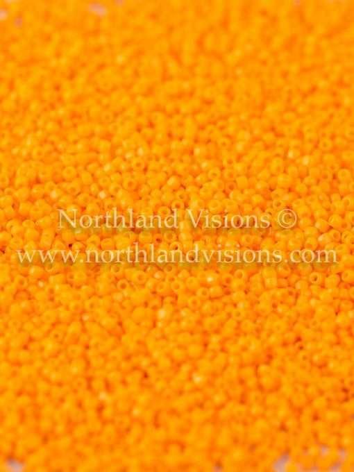 Japanese Seed Bead, TOHO CRS-042D, Opaque Light Orange, 15/0 3-Cut, 14 grams