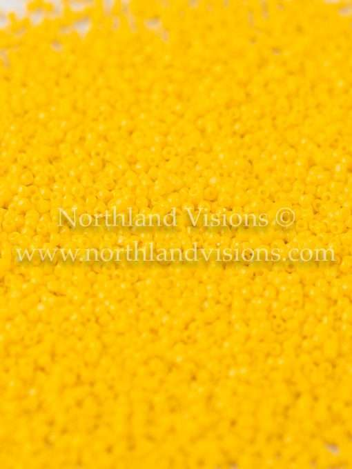 Japanese Seed Bead, TOHO CRS-042B, Opaque Corn Yellow, 15/0 3-Cut, 14 grams