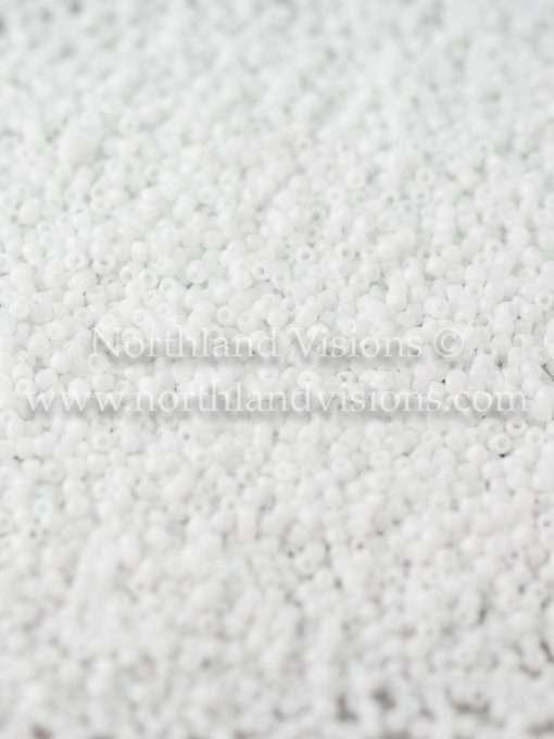 Japanese Seed Bead, TOHO CRS-41, Opaque White, 15/0 3-Cut, 14 grams