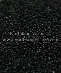 Japanese Seed Bead, TOHO CRS-049, Opaque Black, 15/0 3-Cut, 14 grams