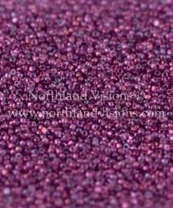 Japanese Seed Bead, TOHO CRS-205, Transparent Mauve Gold Iris, 15/0 3-Cut, 14 grams
