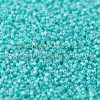 Japanese Seed Bead, TOHO CRS-132, Opaque Turquoise Green Luster, 15/0 3-Cut, 14 grams