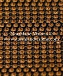 Czech Preciosa Rhinestone Banding, 491-81-301/43, Light Colorado Topaz/Antique Gold, ss13, 1 Row, 1 Yard