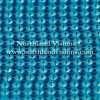 Czech Preciosa Rhinestone Banding, 491-81-301/4H, Aqua Bohemica/Acid Light Blue, ss13, 1 Row, 1 Yard