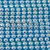 Czech Preciosa Rhinestone Banding, 491-81-301/4I, Crystal AB/Blue, ss13, 1 Row, 1 Yard