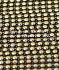 Czech Preciosa Rhinestone Banding, 491-81-301/43, Crystal AB/Antique Gold, ss13, 1 Row, 1 Yard