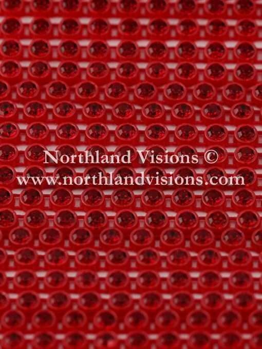 Czech Preciosa Rhinestone Banding, 491-81-301/45, Siam Ruby/Red, ss13, 1 Row, 1 Yard
