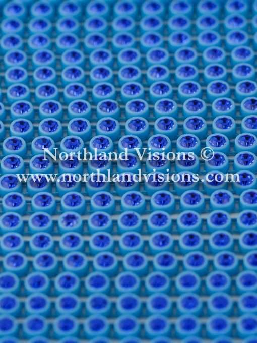 Czech Preciosa Rhinestone Banding, 491-81-301/41, Sapphire/Blue, ss13, 1 Row, 1 Yard