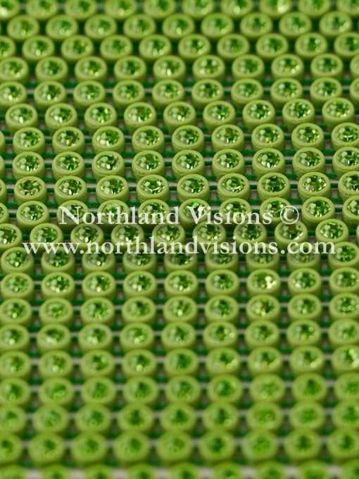 Czech Preciosa Rhinestone Banding, 491-81-301/49, Peridot/Green, ss13, 1 Row, 1 Yard