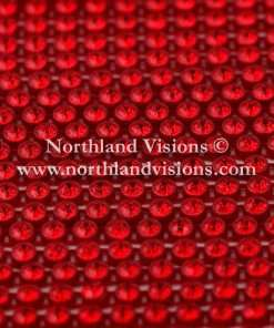 Czech Preciosa Rhinestone Banding, 491-81-301/45 LtSiamR, Light Siam/Red, ss13, 1 Row, 1 Yard