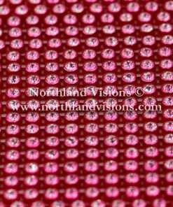Czech Preciosa Rhinestone Banding, 491-81-301/45 CCR, Crystal/Red, ss13, 1 Row, 1 Yard