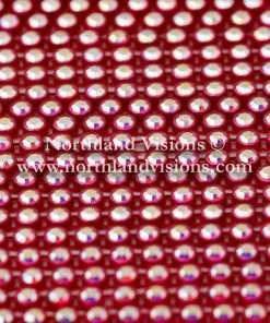 Czech Preciosa Rhinestone Banding, 491-81-301/45 CAR, Crystal AB/Red, ss13, 1 Row, 1 Yard