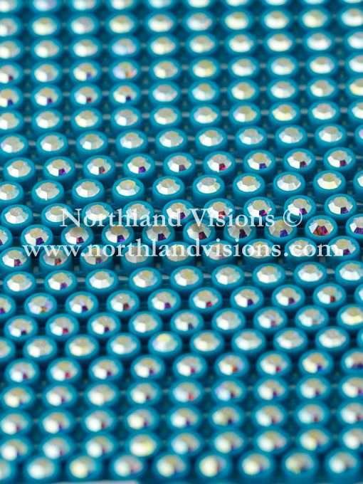 Czech Preciosa Rhinestone Banding, 491-81-301/46 CAR, Crystal AB/Red, ss13, 1 Row, 1 Yard