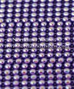Czech Preciosa Rhinestone Banding, 491-81-301/4E, Crystal AB/Purple, ss13, 1 Row, 1 Yard