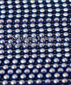Czech Preciosa Rhinestone Banding, 491-81-301/48, Crystal AB/Navy Blue, ss13, 1 Row, 1 Yard