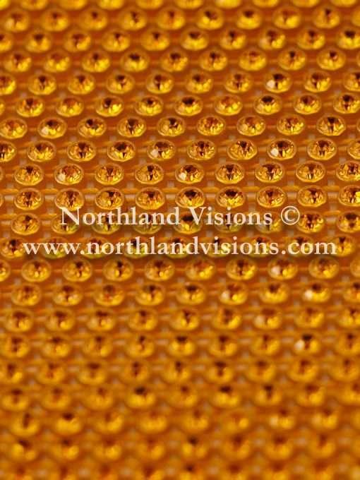 Czech Preciosa Rhinestone Banding, 491-81-301/02, Topaz/Gold, ss13, 1 Row, 1 Yard