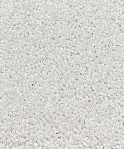 Czech Seed Bead 03050 Opaque Chalk White, 9/0