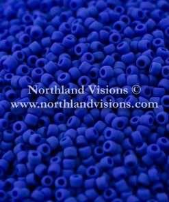 Japanese Seed Bead, Matsuno, Opaque Dark Blue Matte, 11/0 30 grams