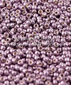 Japanese Seed Bead, TOHO, PermaFinish Galvanized Light Purple, 11/0 30 grams