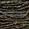 Czech 3 Cut Seed Bead, Metallic Brown Iris, 9/0 1 Hank