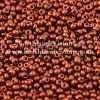 Czech Seed Bead, Metallic Dark Copper Silk, Loose, 11/0 30 grams