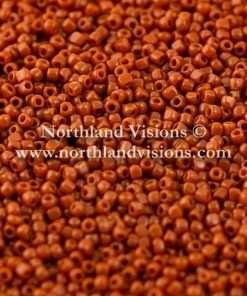 Japanese Seed Bead, TOHO CRS-046L, Opaque Sienna Brown, 15/0 3 Cut, 14 grams