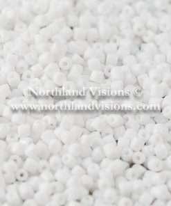 Czech 3-Cut Seed Bead, Preciosa® Ornela 03050, Opaque White, 9/0 30 grams