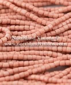 Czech 3 Cut Seed Bead, Opaque Terra Dusty Rose, 9/0, 1 Hank
