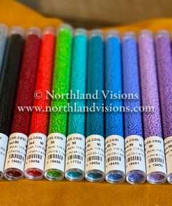 Japanese Seed Bead Set, 11/0 Opaque Matte/Semi Frosted Starter Set, 14 Colors x 30 grams