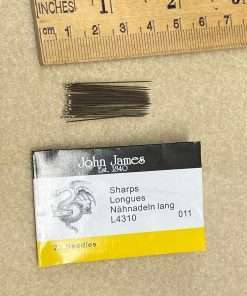 John James L4310-11 Sharps Needles #11 25 Pack