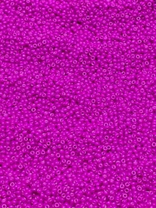 Japanese Seed Bead, Miyuki 11-1373SF/4771 F415A, Opaque Fuchsia Semi Frosted, 11/0 30 grams
