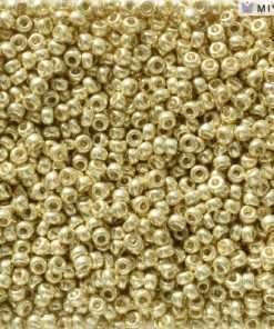 Japanese Seed Bead, Miyuki 11-D5102, Duracoat Galvanized Yellow, 11/0 30 grams