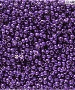 Japanese Seed Bead, Miyuki 11-D5110, Duracoat Galvanized Lilac Night, 11/0 30 grams