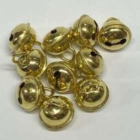 "Brass Hawk Bells, 5/8"" 10 Pieces"