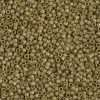 Miyuki Delica Cylinder/Seed Bead, DB0371/DB371, Opaque Golden Olive Gold Luster Matte, 11/0 7 grams