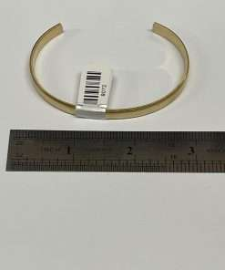 """Brass Bracelet Cuff 3"""" x .25"""""""