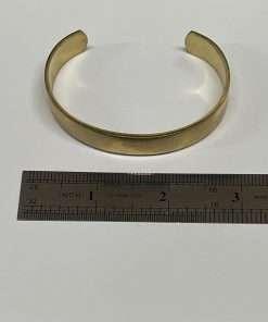 """Brass Bracelet Cuff 3"""" x .5"""""""