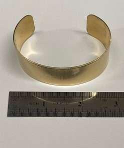 """Brass Bracelet Cuff 3"""" x 1"""""""