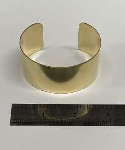 """Brass Bracelet Cuff 3"""" x 1.5"""""""
